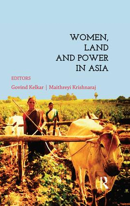 Women, Land and Power in Asia: 1st Edition (Paperback) book cover