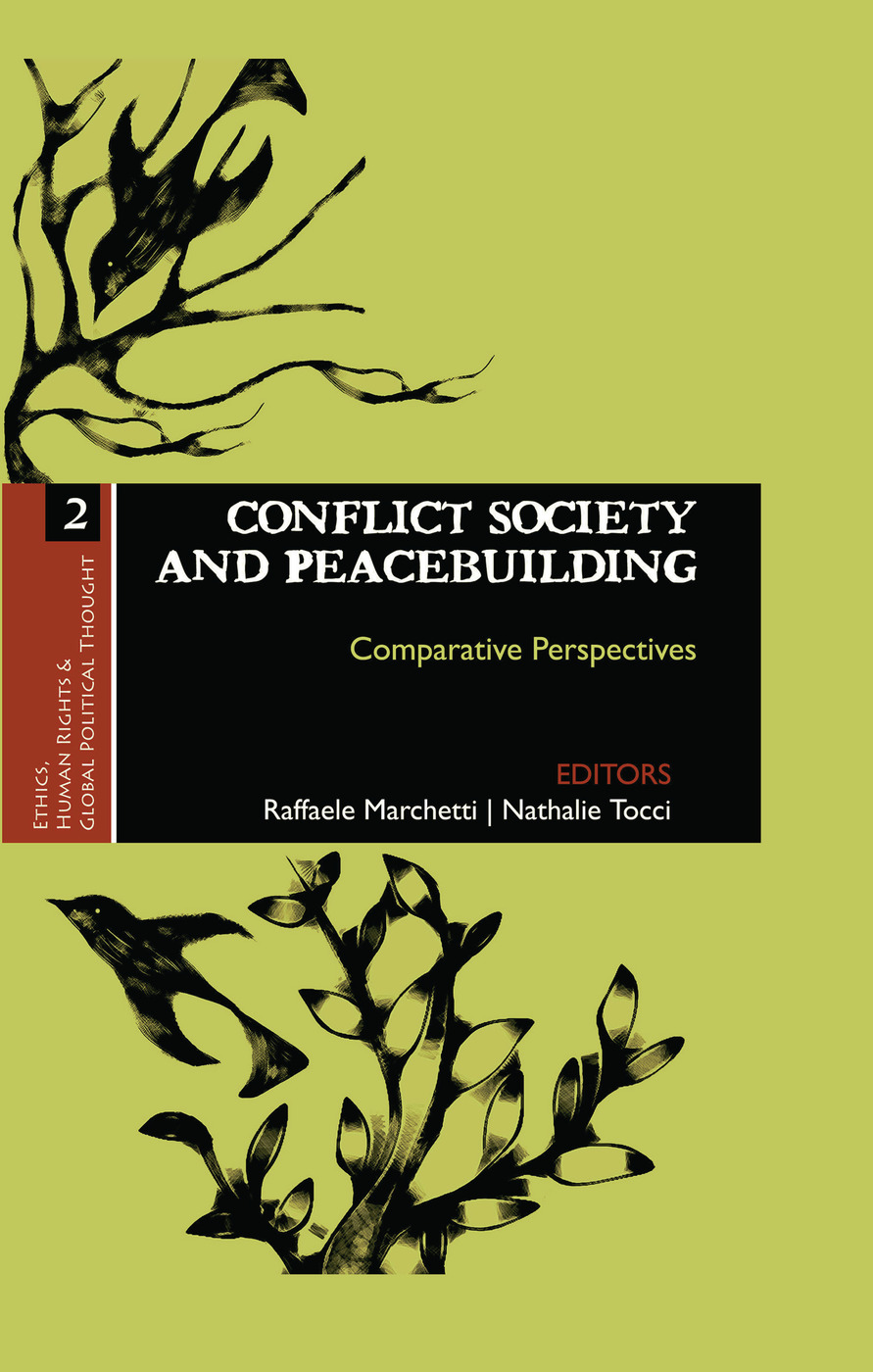 Conflict Society and Peacebuilding: Comparative Perspectives book cover