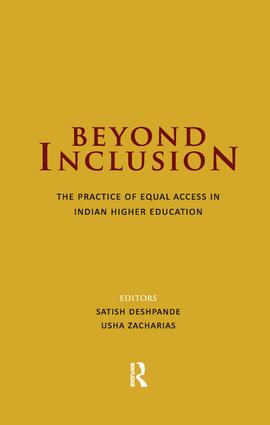 Beyond Inclusion: The Practice of Equal Access in Indian Higher Education, 1st Edition (Paperback) book cover