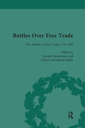 Battles Over Free Trade, Volume 1: Anglo-American Experiences with International Trade, 1776-2007, 1st Edition (Paperback) book cover