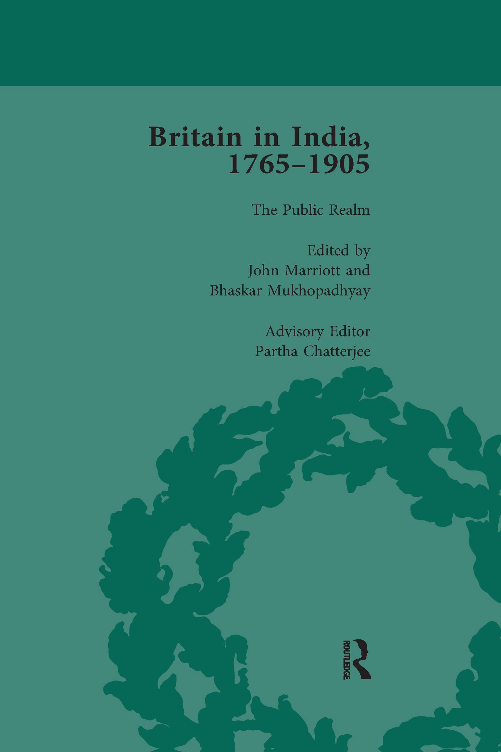 Britain in India, 1765-1905, Volume VI
