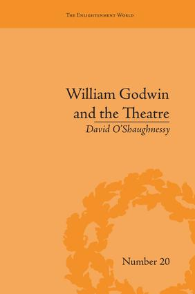 William Godwin and the Theatre (Paperback) book cover
