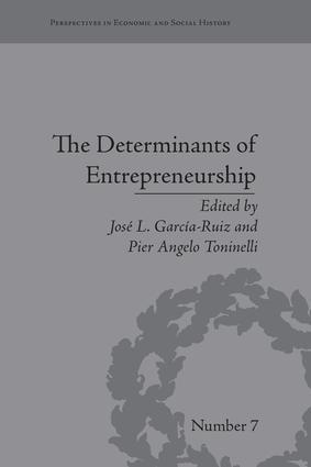 The Determinants of Entrepreneurship