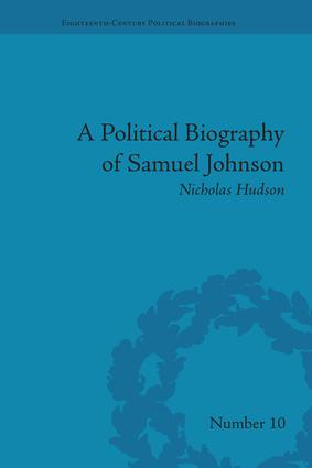 A Political Biography of Samuel Johnson: 1st Edition (Paperback) book cover