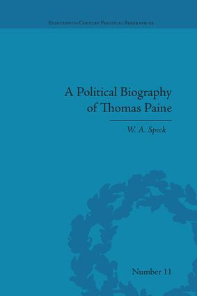 A Political Biography of Thomas Paine: 1st Edition (Paperback) book cover