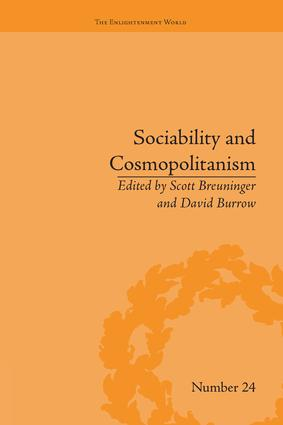 Sociability and Cosmopolitanism: Social Bonds on the Fringes of the Enlightenment, 1st Edition (Paperback) book cover
