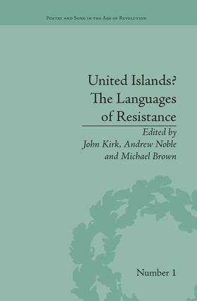 United Islands? The Languages of Resistance: 1st Edition (Paperback) book cover