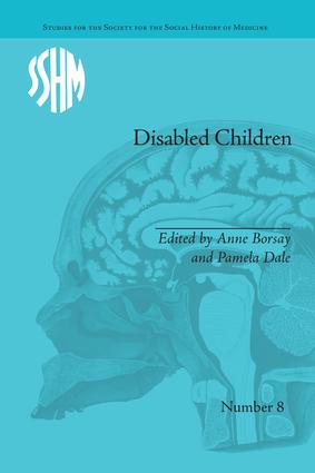 Disabled Children: Contested Caring, 1850–1979 book cover