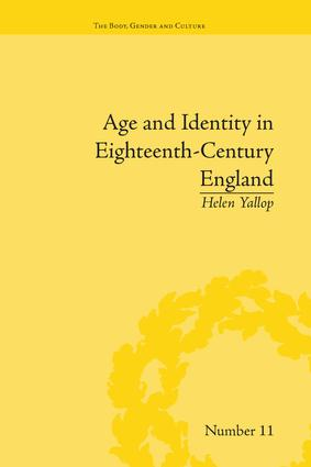 Age and Identity in Eighteenth-Century England: 1st Edition (Paperback) book cover