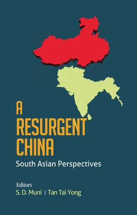 A Resurgent China: South Asian Perspectives, 1st Edition (Paperback) book cover