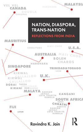 Nation, Diaspora, Trans-nation: Reflections from India, 1st Edition (Paperback) book cover