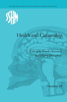 Health and Citizenship: Political Cultures of Health in Modern Europe book cover