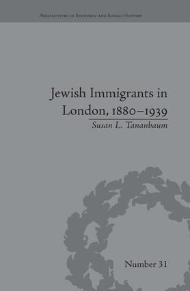 Jewish Immigrants in London, 1880–1939