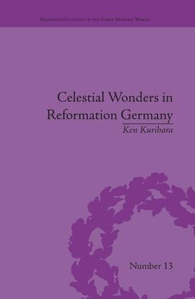 Celestial Wonders in Reformation Germany book cover