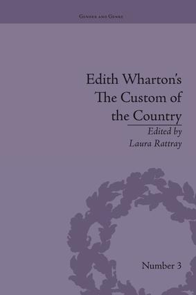 Edith Wharton's The Custom of the Country: A Reassessment book cover