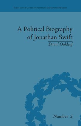 A Political Biography of Jonathan Swift: 1st Edition (Paperback) book cover