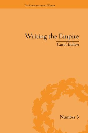 Writing the Empire: Robert Southey and Romantic Colonialism book cover
