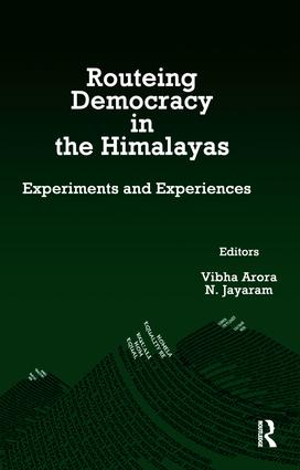 Routeing Democracy in the Himalayas: Experiments and Experiences, 1st Edition (Paperback) book cover