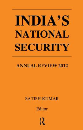 India's National Security: Annual Review 2012, 1st Edition (e-Book) book cover