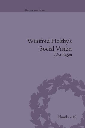 Winifred Holtby's Social Vision: 'Members One of Another' book cover