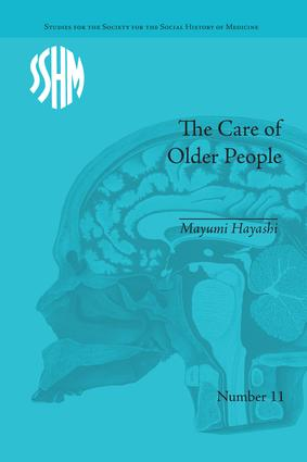 The Care of Older People: England and Japan, A Comparative Study book cover