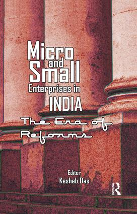 Micro and Small Enterprises in India: The Era of Reforms, 1st Edition (Paperback) book cover