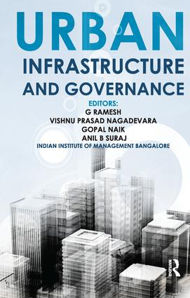 Urban Infrastructure and Governance: 1st Edition (Paperback) book cover