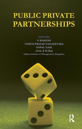 Public Private Partnerships: 1st Edition (Paperback) book cover