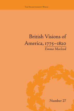 British Visions of America, 1775-1820: Republican Realities book cover