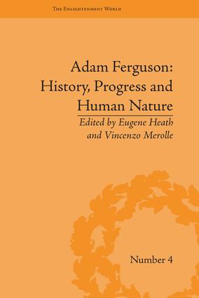 Adam Ferguson: History, Progress and Human Nature: 1st Edition (Paperback) book cover