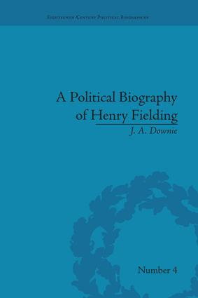 A Political Biography of Henry Fielding: 1st Edition (Paperback) book cover