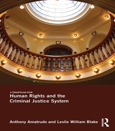 Human Rights and the Criminal Justice System book cover