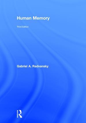Human Memory: 3rd Edition (Hardback) book cover