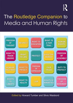 The Routledge Companion to Media and Human Rights (Hardback) book cover