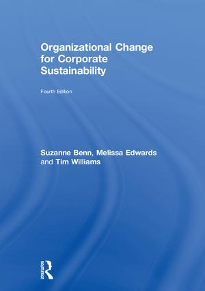 Organizational Change for Corporate Sustainability book cover