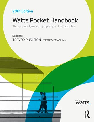 Watts Pocket Handbook (Paperback) book cover