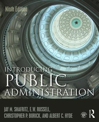 Introducing Public Administration book cover