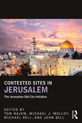 Contested Sites in Jerusalem: The Jerusalem Old City Initiative book cover