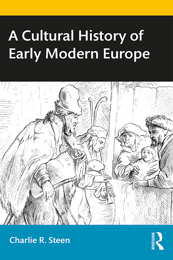 A Cultural History of Early Modern Europe book cover