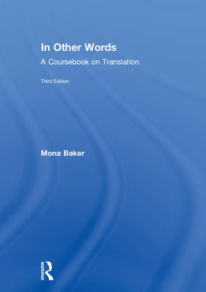 In Other Words: A Coursebook on Translation book cover