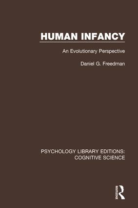 Human Infancy: An Evolutionary Perspective, 1st Edition (Paperback) book cover