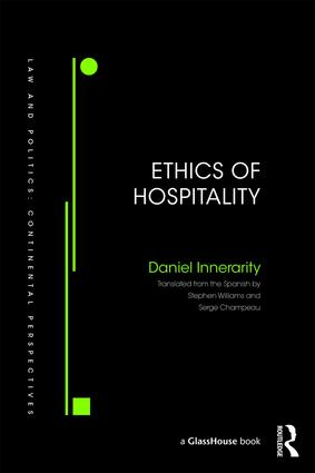 Ethics of Hospitality: 1st Edition (Hardback) book cover