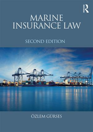 Marine Insurance Law book cover