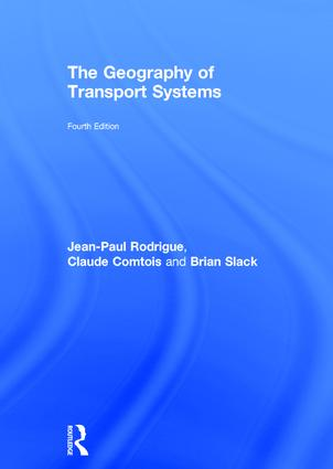 The Geography of Transport Systems: 4th Edition (Hardback) book cover