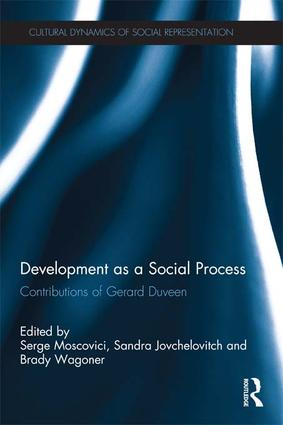 Development as a Social Process: Contributions of Gerard Duveen (e-Book) book cover