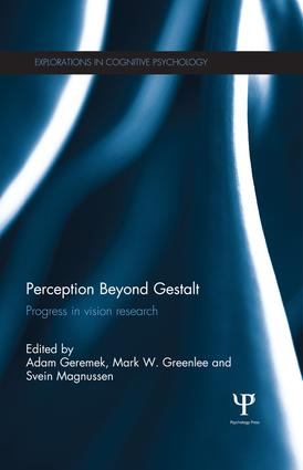 Perception Beyond Gestalt: Progress in vision research book cover