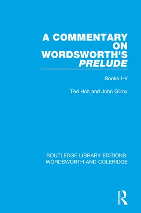 A Commentary on Wordsworth's Prelude: Books I-V book cover
