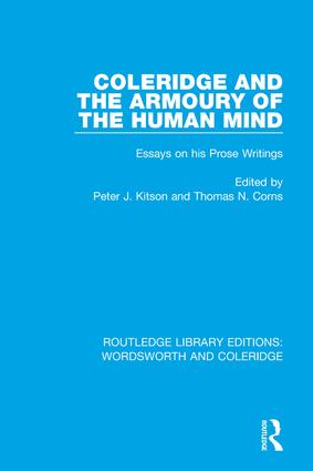 Coleridge and the Armoury of the Human Mind: Essays on his Prose Writings book cover