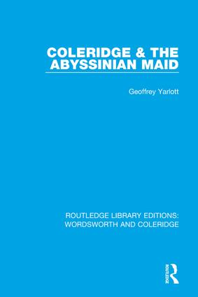Coleridge and the Abyssinian Maid book cover