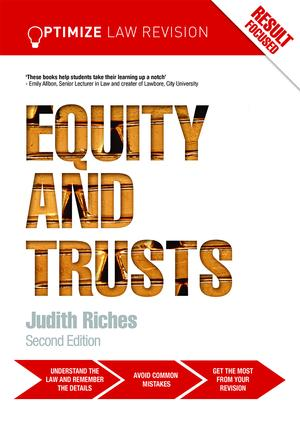 Optimize Equity and Trusts: 2nd Edition (Paperback) book cover